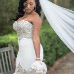 Невеста сделала огромную родинку на лице изюминкой свадебного образа