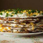 Интересные рецепты закусочных тортов